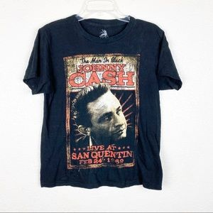 Johnny Cash The Man In Black Graphic Tee